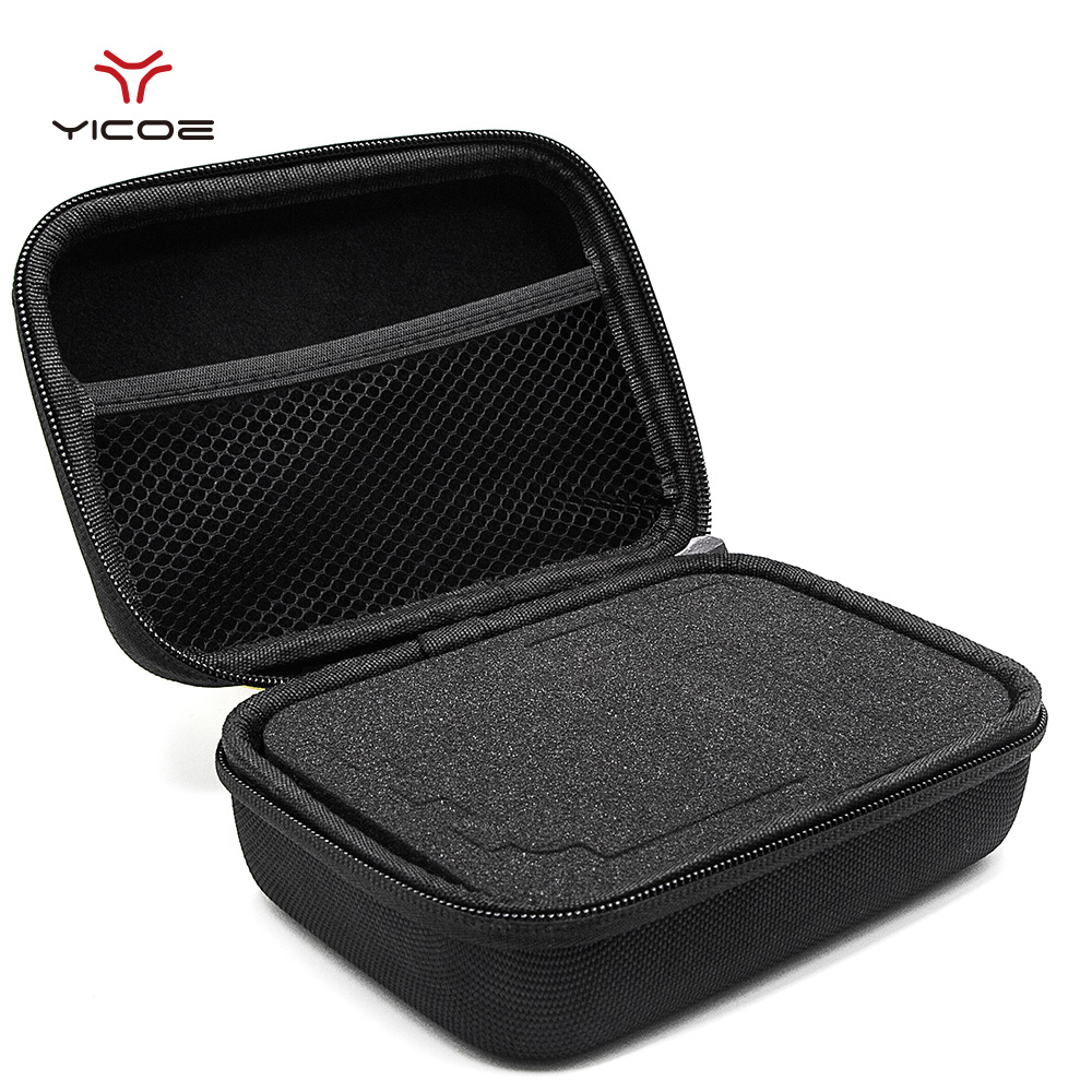 цена на Large Middle Small Size EVA Storage Bag Case for Go pro Hero 6 5 3+/3 4 Session SJCAM SJ4000 Xiaomi yi 4K Camera Accessories