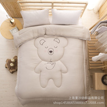Modal fabric, pure cotton padding, size for 200x230cm and 220x240cm, cartoon warm and comfortable Winter quilt