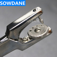 Dental Rubber Dam Punch Instrument Stainless Steel Tool 17cm