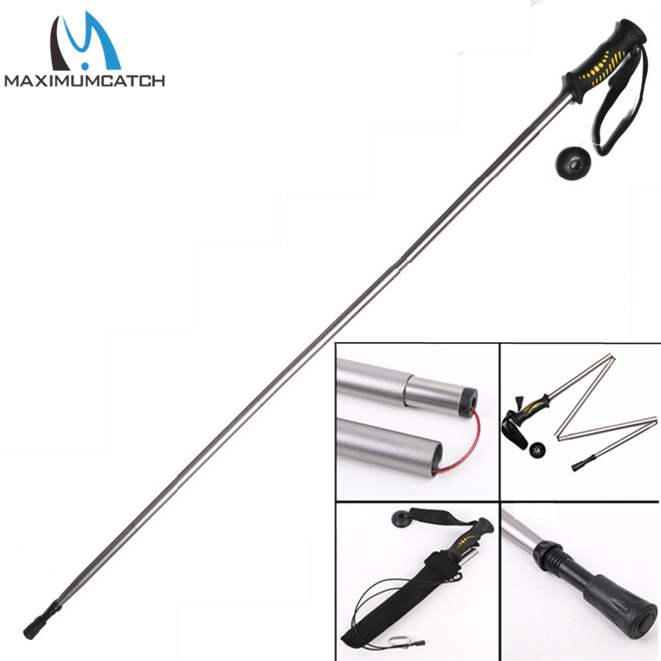 ФОТО Maximumcatch Collapsible Wading Staff Fly fishing Tool Fishing Stick Climbing Tool