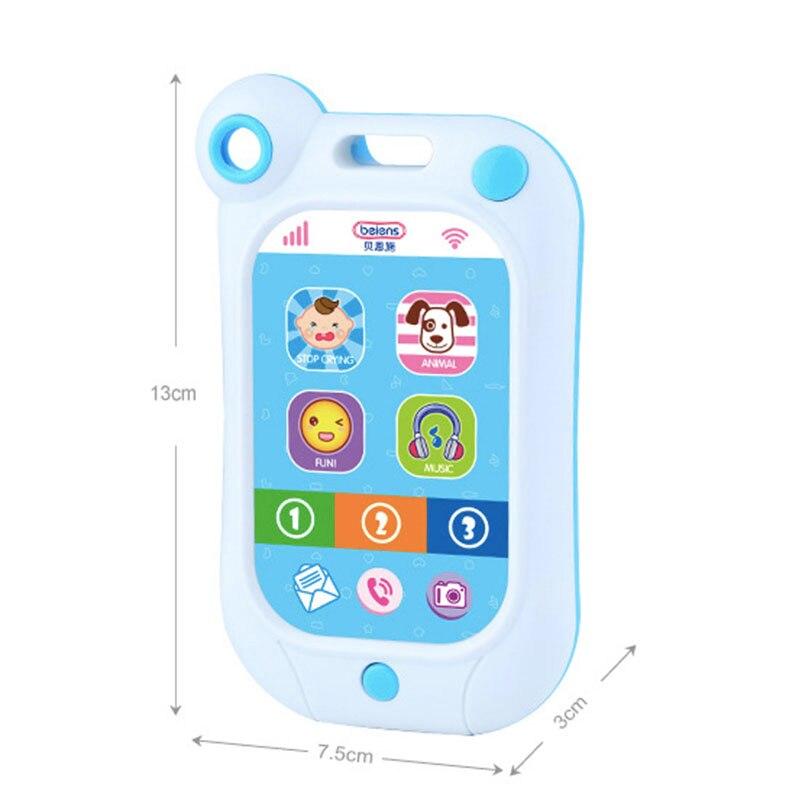 Zabawki dla dzieci Nauka Badanie Musical Dźwięk Telefonu