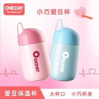 Oneday New Products Love Beanie Insulation Thermos Portable Stainless Steel Vacuum Flask Creative Cute Mini Cup