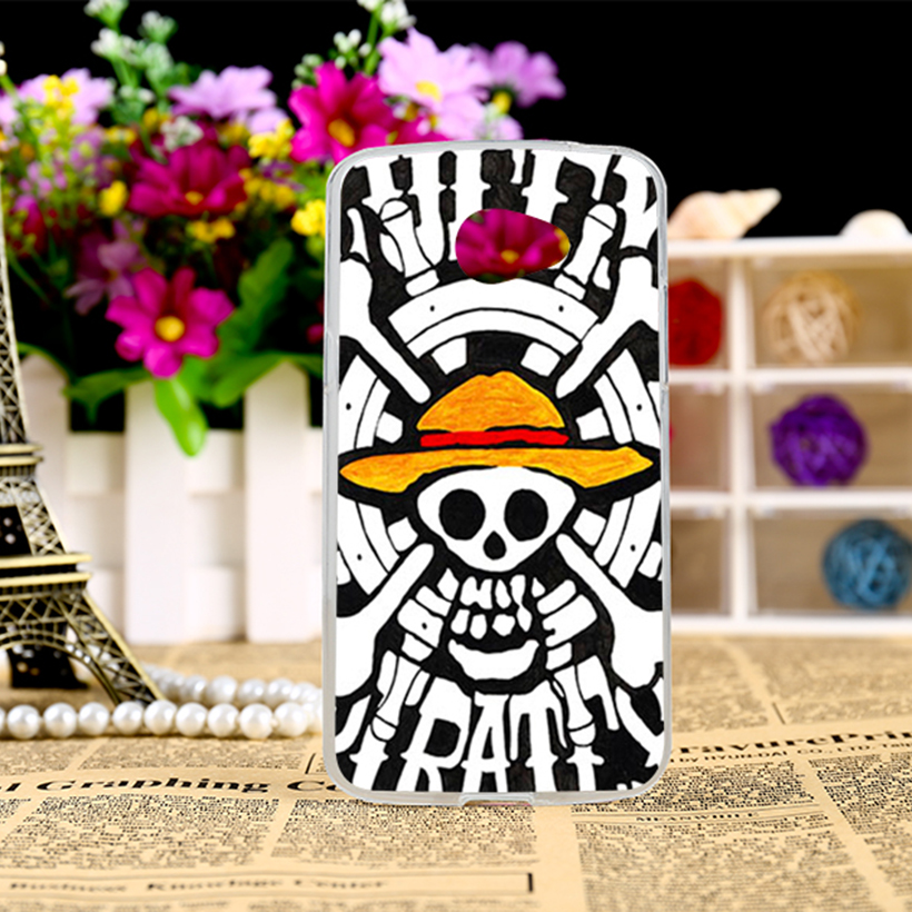 Diy plástico duro cajas del teléfono móvil para lg k5 x220 q6 5 ''Contraportada Naruto Sonrisa Cara Del Cráneo Cabeza Accesorios Del Teléfono de La Piel Shell
