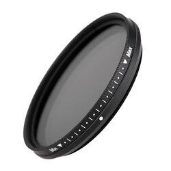 Fotga 52mm Slim Fader Variable ND Filter Adjustable Neutral Density ND2 to ND400 Camera Lens Filter