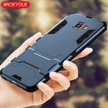 BROEYOUE Armor Case For Samsung Galaxy A3 A5 A7 J2 J3 J5 J7 Prime 2016 2017 Cover iPhone 5 5S SE 6 6S 7 8 Plus X Cases