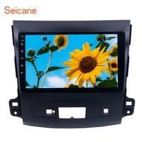 Seicane Android 8.1 9 Inch Car Radio 2Din Quad Core HD 1024*600 Tochscreen Multimedia Player For 2006 2014 MITSUBISHI Outlander