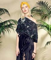 Wholesale Trees Patterns Digital Print Silk Fabrics Dresses Tweed Scrapbooking Cheap Print Satin Lace Fabric Costura