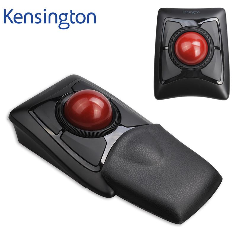 Più nuovo Kensington Esperto Trackball Mouse Senza Fili Bluetooth 4.0 LE/2.4 ghz (Grande Palla di Scorrimento Anello) con Vendita Al Dettaglio di Imballaggio K72359