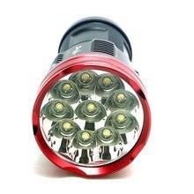 16000 lumens SKYRAY King 10T6 LED flashlamp 10 x CREE XM-L T6 LED Flashlight Torch Lamp Light