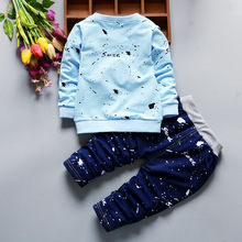 JIOROMY Children's Clothing Set 2017 Autumn Boys Clothes 2 Coats for Autumn Boys Girls Set 1-4 Years Old Children's Suit