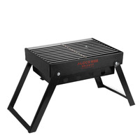 Folding Barbecue Grill Bbq Charcoal Smoker Outdoor Portable Camping Picnic Free Shipping