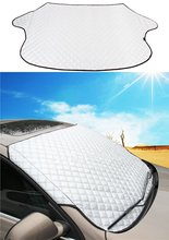Chuang Qian Universal Shield Guard Windshield Snow Cover Sun Shade Protector All Weather - Sun, Snow, Ice, Frost, Wind Proof intro tech automotive lx 22 s windshield snow shade
