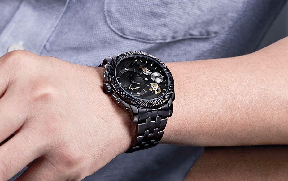 HTB1QXAJXZTxK1Rjy0Fgq6yovpXa4 MEGIR Luxury Quartz Watches Stainless Steel Military Wrist Watch