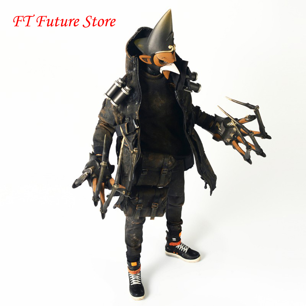 For Collection 1/6 Scale Collectible Full Set Chinese Mythical Novel Mad God Series Lei Zhenzi Action Figure Model Fans Gifts