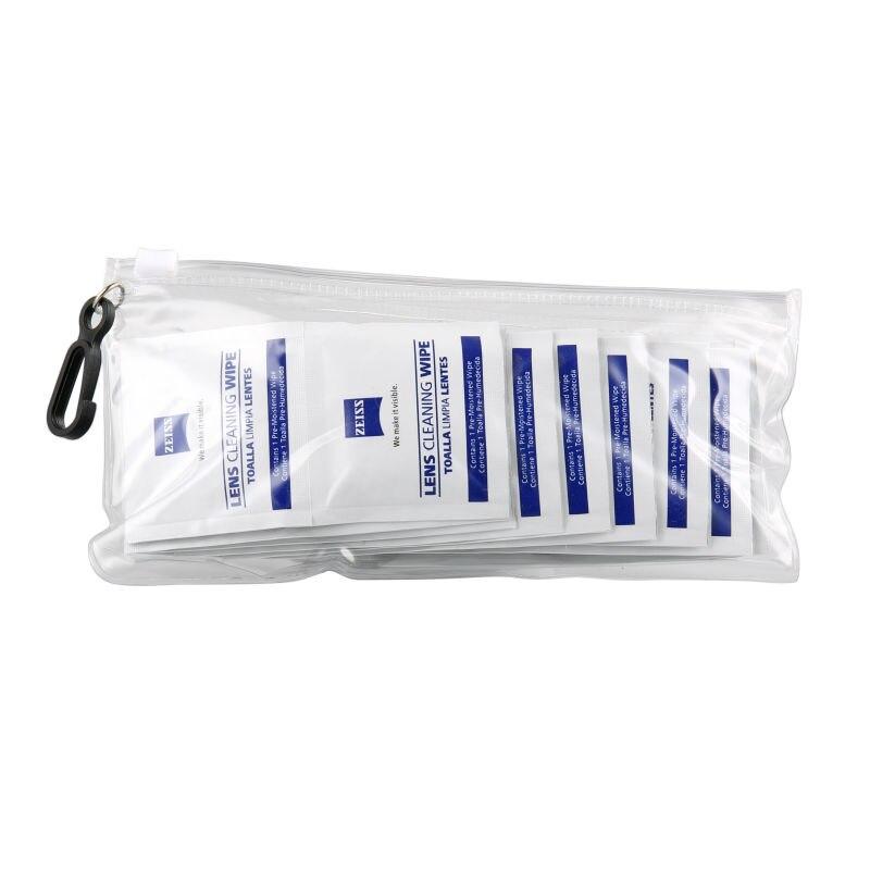 4a6105ef3a1c7 O envio gratuito de 20 contagens ZEISS imprimir o logotipo personalizado óculos  óculos de microfibra pano de limpeza em rolo com bolsa de transporte ...