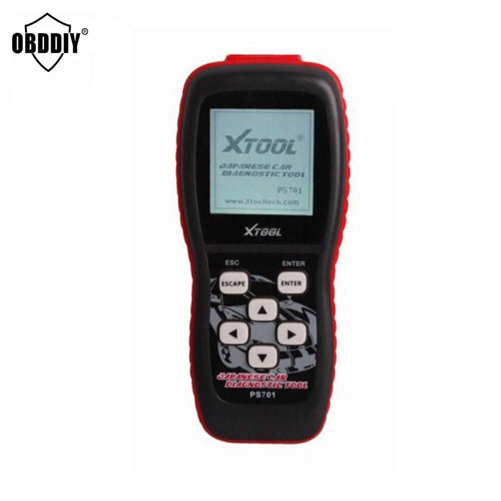 Цена за Горячие Продажа Оригинал Xtool PS701 Японского Автомобиля Диагностический инструмент обновление онлайн JP Диагностический Инструмент PS 701 для Японии Автомобили OBD2 сканер