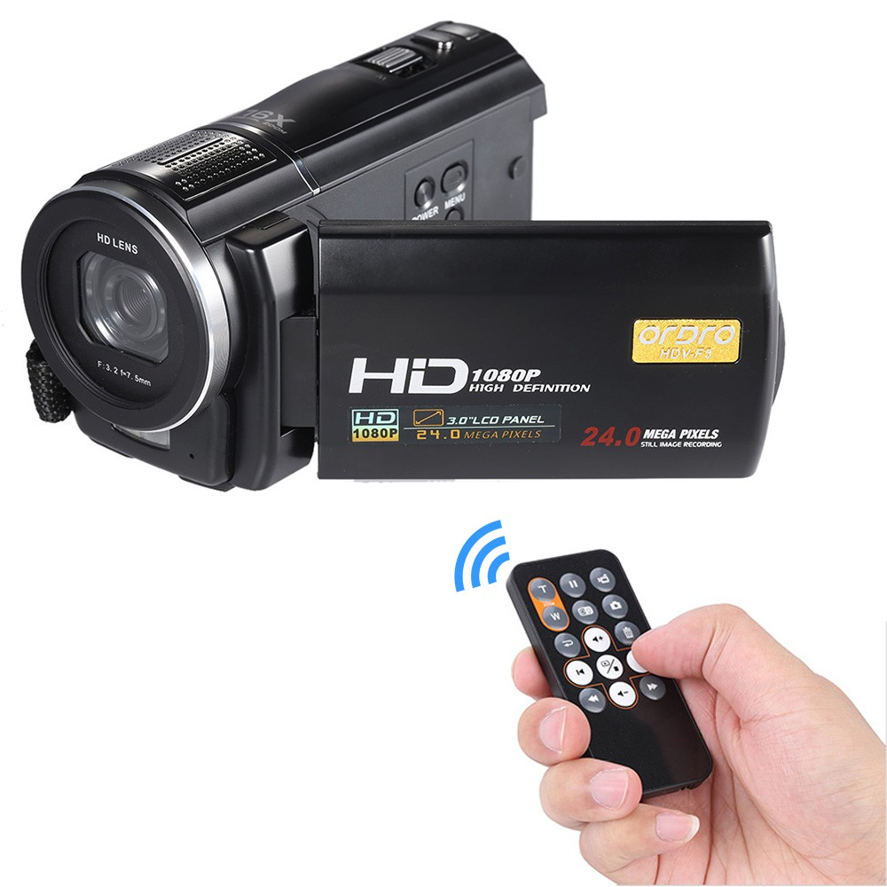 16X Zoom 24MP Digital Camera Video Camcorder 3 0 inch LCD Touch Screen Professional Recording DV