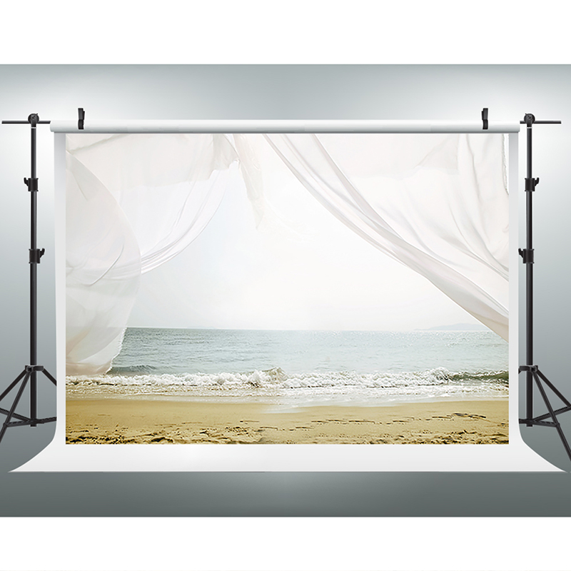 Valentine's Day Photography Backdrops Sky Sea Beach Photographic Background  Wedding Vinyl Backdrops for Photography wedding photography background blue sky white clouds photo booth backdrops sea sunny beach background for photographic studio