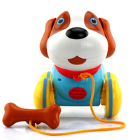 Toys for Baby Toddler Children Electronic Pets Dog Plastic Kids Musical Interactive Toys Walking Dog Gift for Children