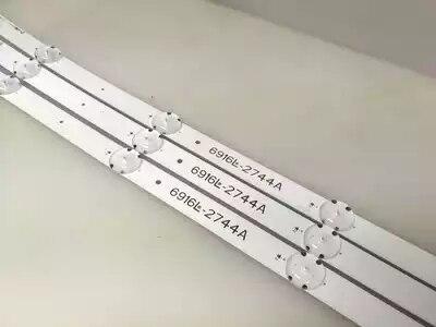 84cm LED backlight 7/8LEDs for LG 43 43lh5700 TV 43VH6100 43UH603V 6916L-2744A 6916L-2743A V16.5 ART3 LC430DGE FJ M2 43lh590v84cm LED backlight 7/8LEDs for LG 43 43lh5700 TV 43VH6100 43UH603V 6916L-2744A 6916L-2743A V16.5 ART3 LC430DGE FJ M2 43lh590v