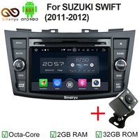 Android 6 0 CAR DVD GPS For SUZUKI SWIFT 2011 2015 Support DVR WIFI DSP DAB