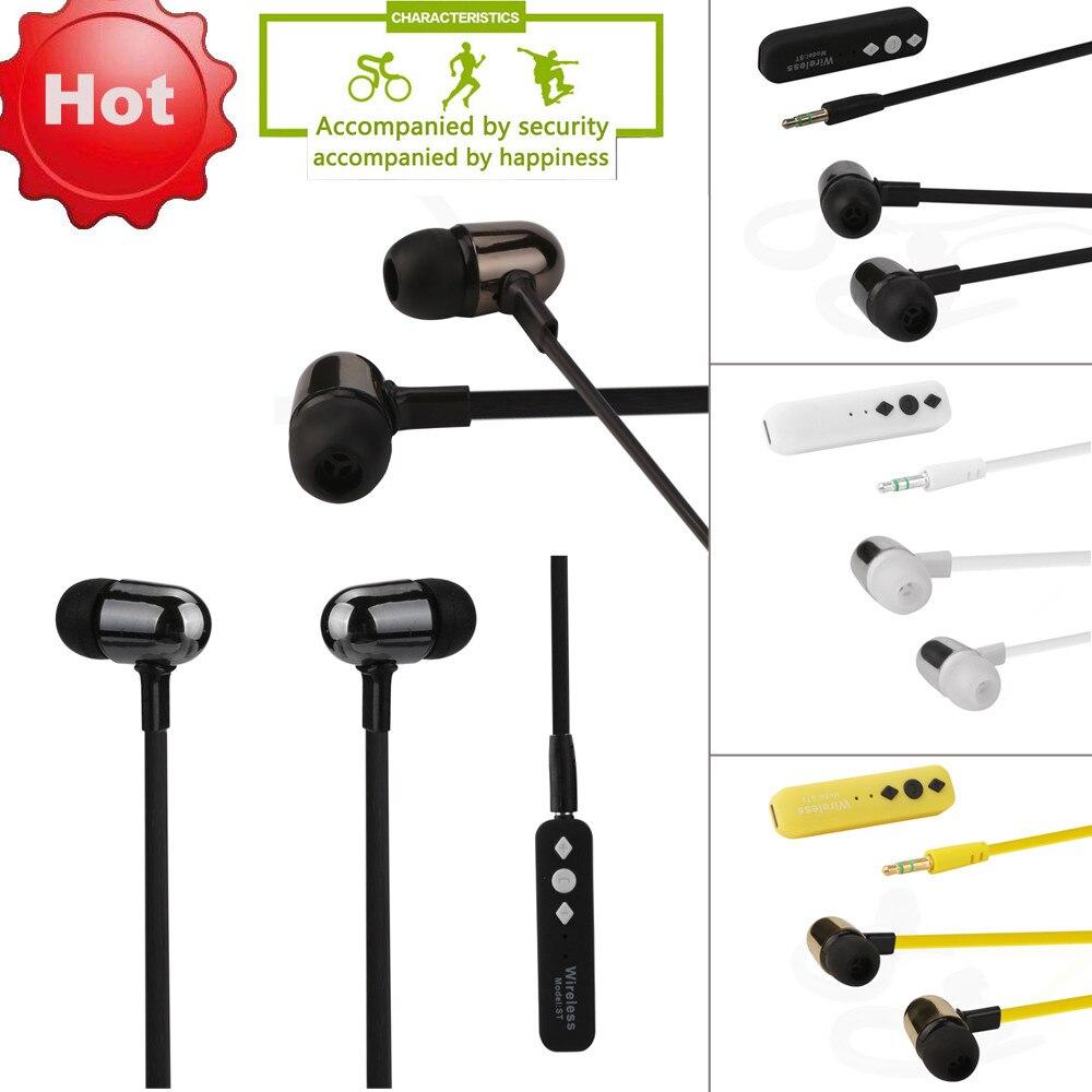 Auricular Bluetooth inalámbrico Auriculares Estéreo Del Auricular Del Deporte Para el iphone para Samsung