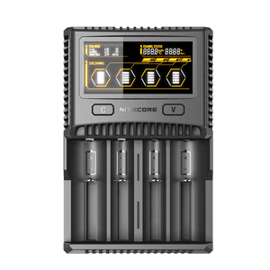 Image 5 - NITECORE SC4 Intelligent Faster Charging Superb Charger with 4 Slots 6A Total Output Compatible IMR 18650 14450 16340 AA Battery