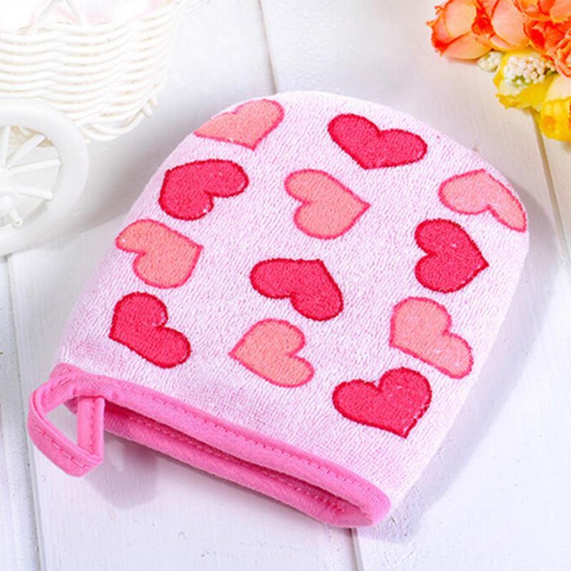 Furniture 1pc Shower Sponge Exfoliating Wash Cloth Towel Cute Baby Cartoon Soft Bathing Bathroom Mitt Glove Foam Rub 10.5cm *13cm