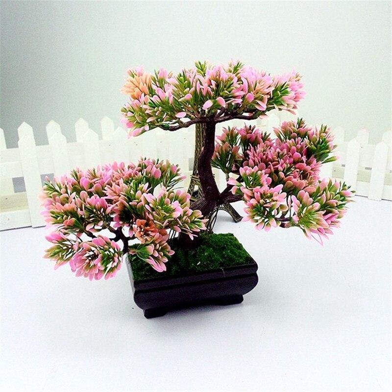 Artificial Trees Home Decor: Vintage Home Decor Plants Artificial Decorative Trees