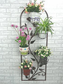 Fujian Wall Flower Garden Wrought Iron Plant Stand Indoor Shipping In Shower Gels From Beauty Health On Aliexpress