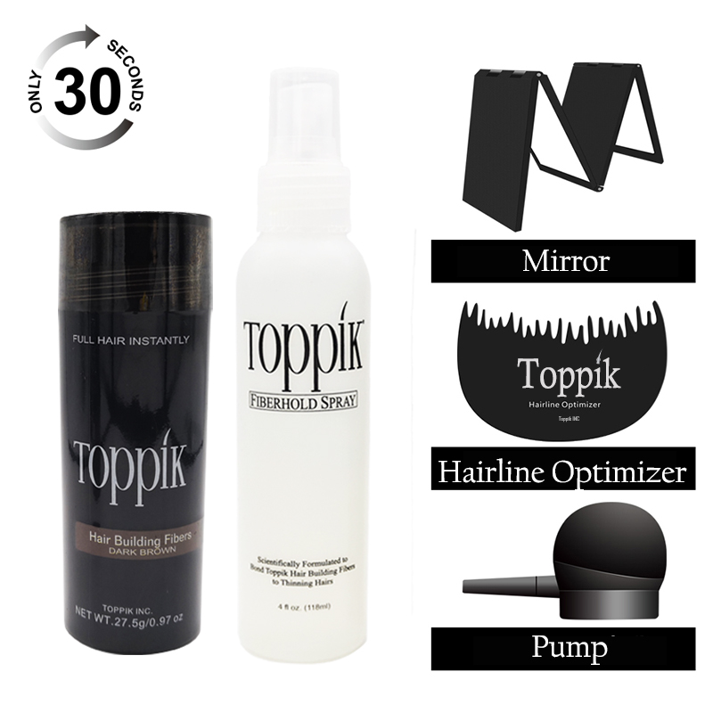 Hair building fibers ioem raw material in toppik black, dark brown 9 colors in available for hair contact with sellers toppik hair building fibers powder 27 5g spray lock 118ml pump to fix with hair fibers on your hair fibers have 9 colors