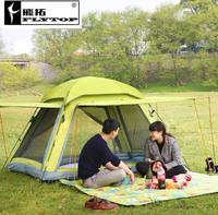 Унти uv Сверхлегкий Палатка 3 4 человек двойные слои путешествия Рыбалка пляж большой кемпинг палатка открытый Палатки кемпинг семья Китай