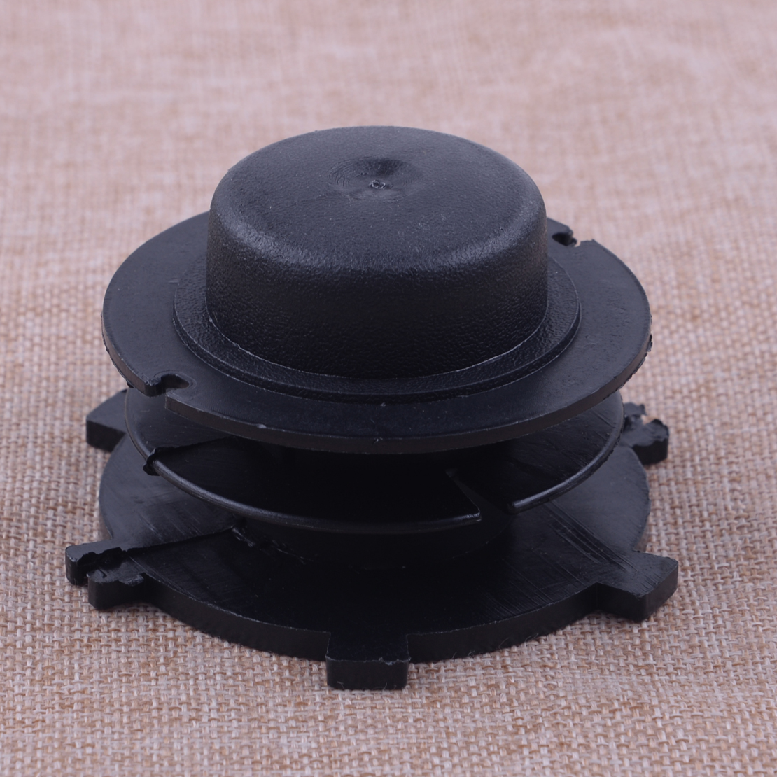 LETAOSK New Black Trimmer Head Spool Cover Replace 4002-713-3017 Fit For Autocut 25-2 STIHL FS44 FS55 FS80 FS83 FS85 FS90 FS100