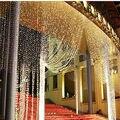 3 M x 3 M 300 LED Blanco Cálido Hogar Al Aire Libre de Navidad decorativa Cortina de Guirnaldas de navidad de Hadas Cadena Fiesta Tira de Luces Para boda