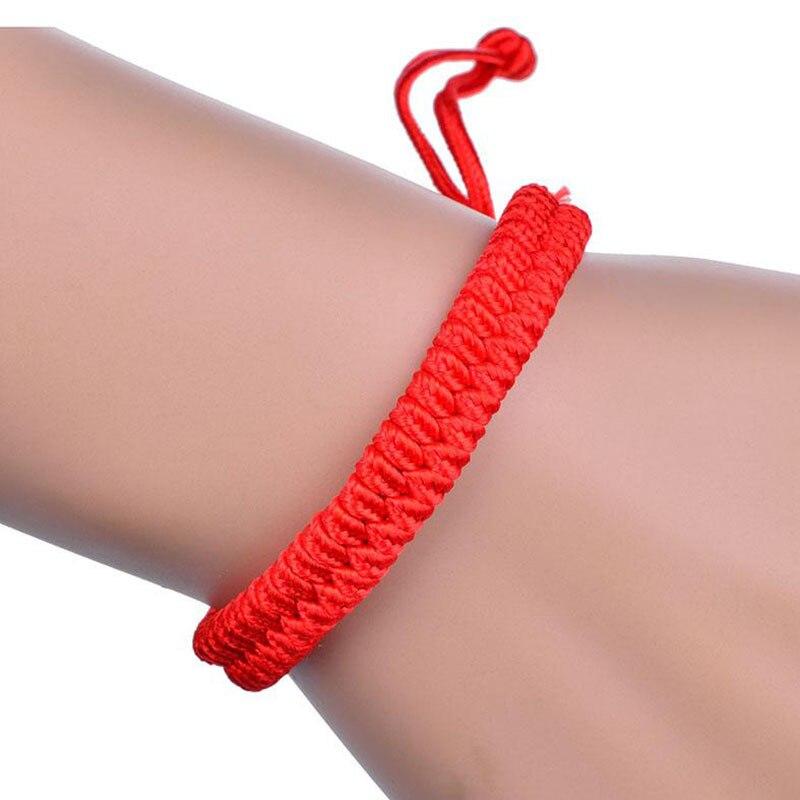 2017 Chinese Style Jewellery Cords Braided Lucky Rope Handmade Friendship Bracelets Wristlet