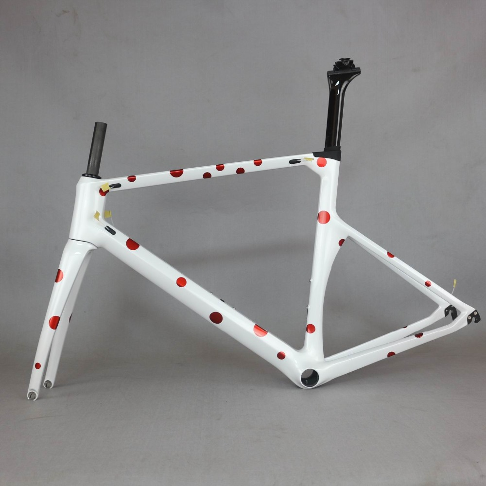 Japan Carbon Racing Frame  Carbon Road Frame Bicycle New Design Carbon Road Bike Frame TT-X1  SERAPH Brand Frame