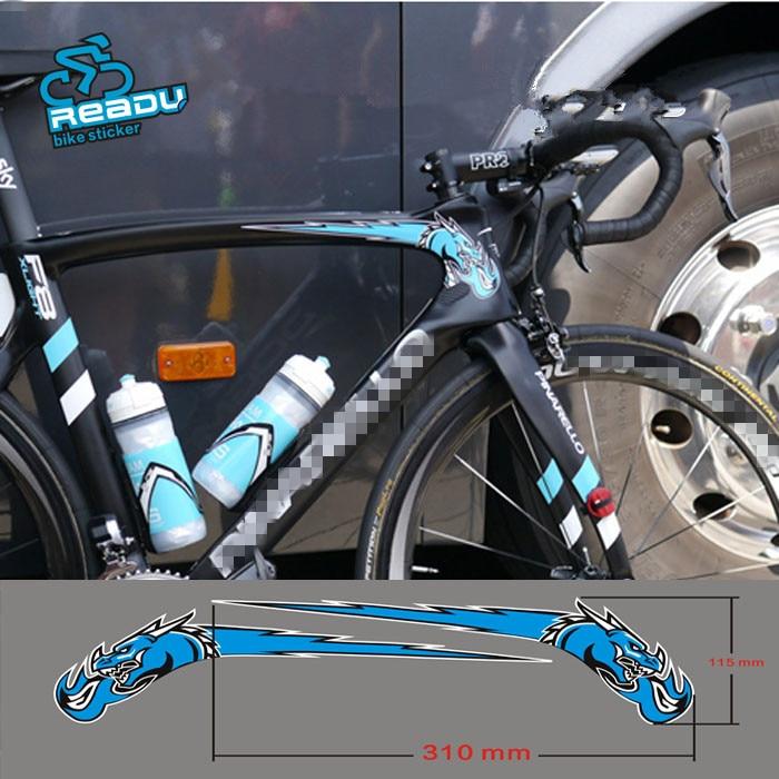 READU 11,5X31 cm Aufkleber Bisiklet Aksesuar Straße Fahrrad Rahmen ...