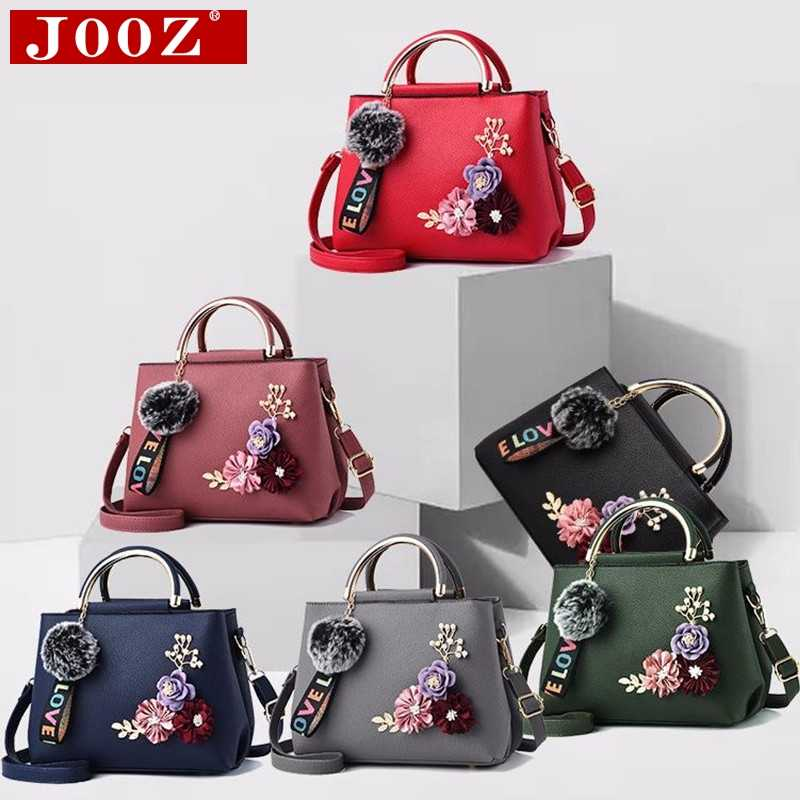 9fce65c7184 JOOZ 2019 color flowers shell Women's tote Leather Clutch Bag small Ladies  Handbags Brand Women Messenger Bags Sac A Main Femme