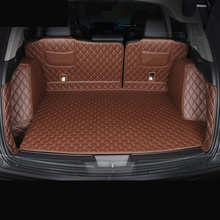 Lsrtw2017 Durable Fiber Leather Car Trunk Floor Mat for Acura RDX 2019