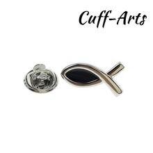 Broche de solapa para hombres pines y broches religiosa Pin para solapa con insignia joyería de Broche Pin de la solapa de Cuffarts P10192