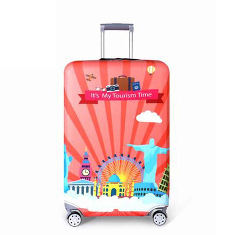 Kalın Seyahat Bavul Koruyucu Kapak valiz Seyahat Aksesuarları Elastik Bagaj tozluk için Geçerlidir 18 ''-32'' Bavul