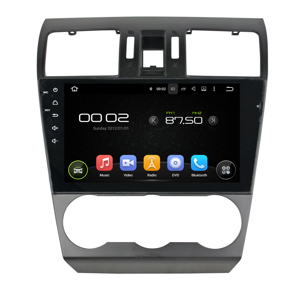 9 inch Screen Android 5.1 Car DVD Player GPS Navigation System Auto Radio Media Stereo for Subaru Forester 2014 2015 2016