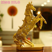 XING KILO Luxury home living room decorations European deer decoration TV cabinet wine furnishings crafts wedding gifts
