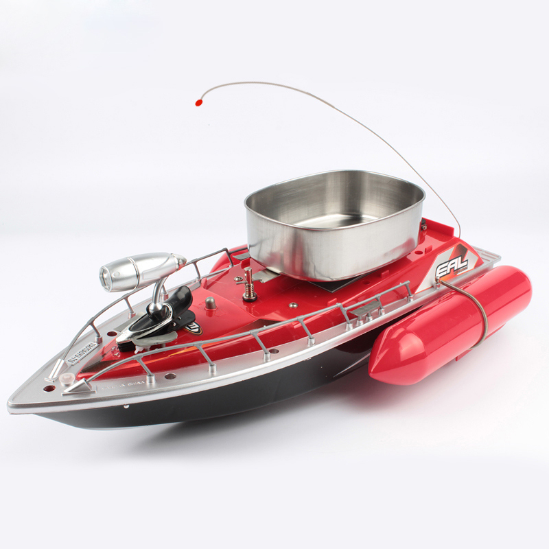 Goture mini rc fishing bait boat 200m 5 7 hour electric for Rc boat fishing