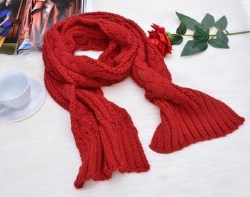 Women Warm Scarf Hat Twist Knitted Hat 2019 Fashion Winter Wool Hat Scarf Cute Knit Crochet Beanies Cap Hats fashion 2 use cap knitted scarf