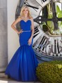 Custom Made Sexy Wedding Guest Dress Off The Shoulder Sleeveless Royal Blue Mermaid Bridesmaid Dresses For Formal Party Gown