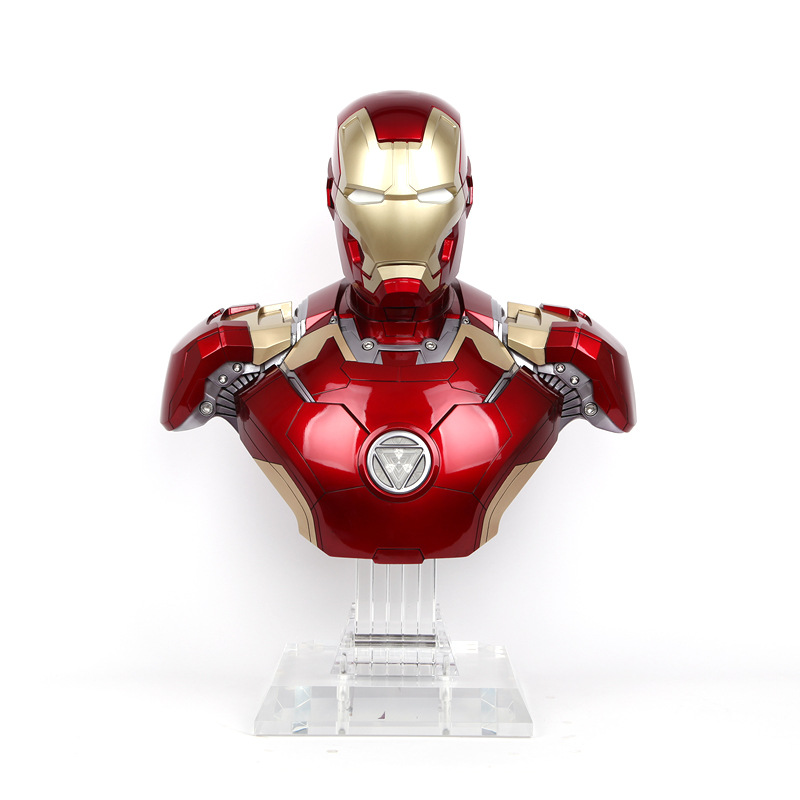 Portable mini speaker iron man body bluetooth wireless - Mini iron man ...