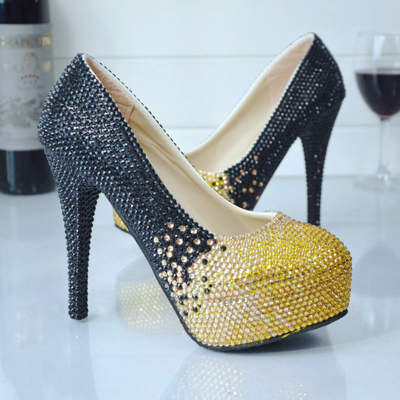 Compare Prices on Gold High Heels Prom- Online Shopping/Buy Low ...