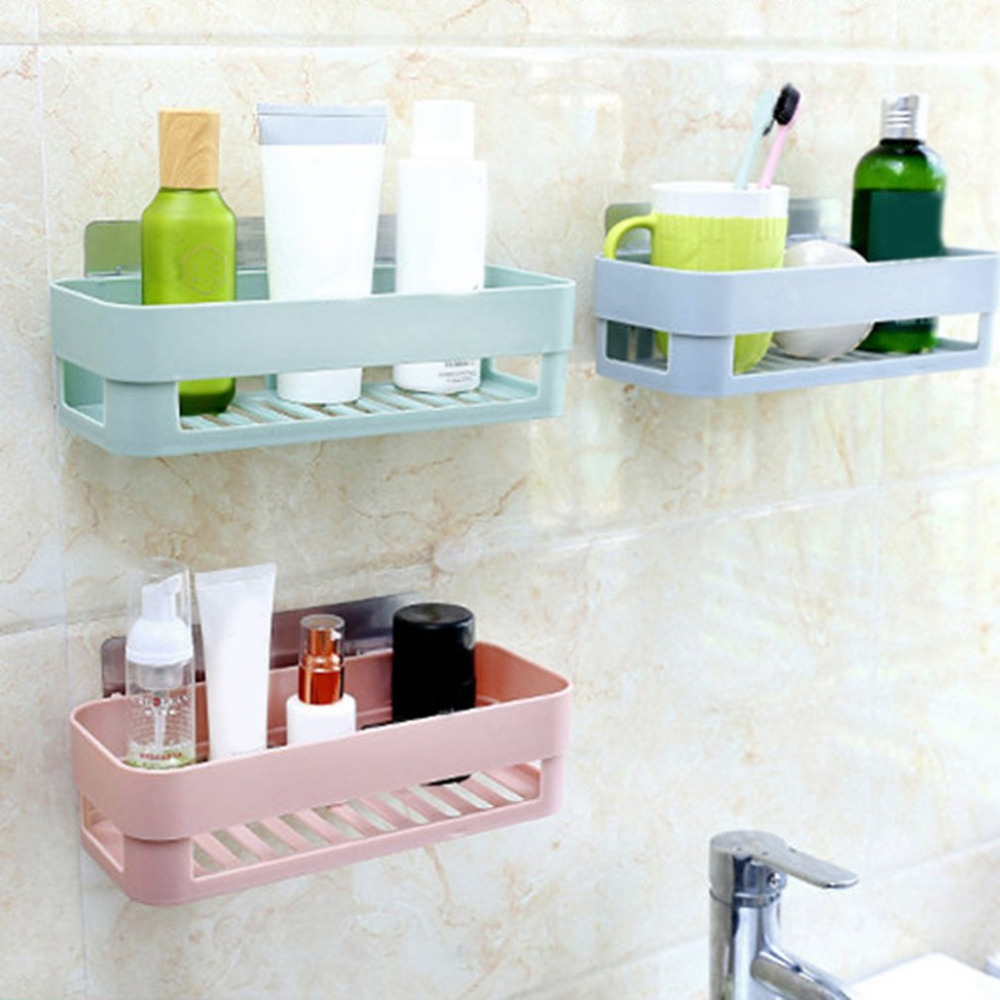 Lovable New Multictional Bathroom Kitchen Storage Her Kitchen Washroom Rack Abs Wall Mounted Bathroom Shelves Drop Bathroom Shelvesfrom New Multictional Bathroom Kitchen Storage Her Kitchen Washroom