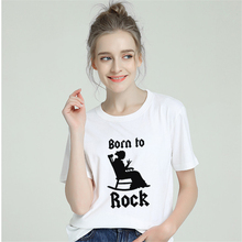 BTFCL 2019 New Cotton Tshirt Women Harajuku Rock Mothers Quote Letter Print Top Tees Short Sleeve Femme T Shirt 90s Streetwear